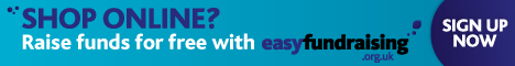 Raise money every time you shop online through PRT's Easyfundraising page